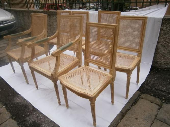 Impagliatura sedie artigianale a trento e in trentino alto adige