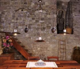 Lampade rustiche per arredamento di interni